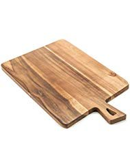 ROLICONE Bamboo Cutting Board with Handles (16.6 x 9.5