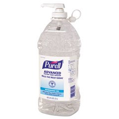 - Instant Hand Sanitizer, 2-liter Bottle, 4 per Carton