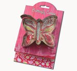 Butterfly Cookie and Fondant Cutter - Ann Clark - 4 Inches - US Tin Plated Steel