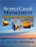 Supply Chain Management: A Logistics Perspective 8th Edition by Coyle, John J., Langley, C. John, Gibson, Brian, Novack, Rob [Hardcover]
