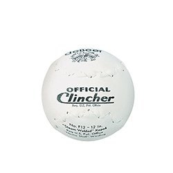 Worth F12 Debeer 12-Inch Trutech Leather Cover Official Clincher Stamped White Ball W10299