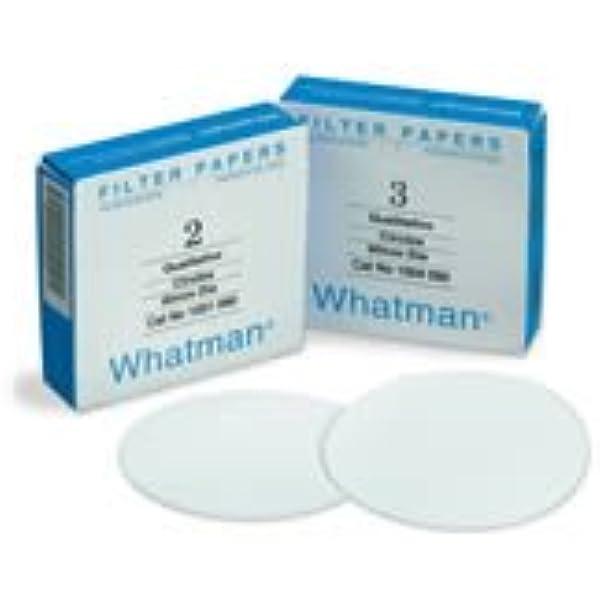 10.5 11 Micron Whatman 1001-125 Qualitative Filter Paper Circles