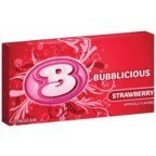 BUBBLICIOUS GUM STRAWBERRY (Pack of ()