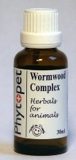 Phytopet Wormwood Complex A Combination Of Herbs Traditionally Used For Parasitic Infestations In Dogs, Cats And Small Animals