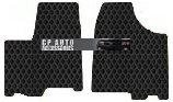 Toyota Sienna Custom-Fit All-Weather Rubber Floor Mats 2 Pc Fronts - Black (2011 11 2012 12 ) AMSEF57435111||801VZL7M