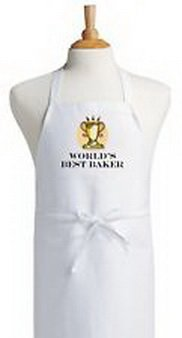Blazers Proforms Costumes - World's Best Baker Cooking Aprons Baking Aprons Kitchen Aprons Chef (Baker Blazer)