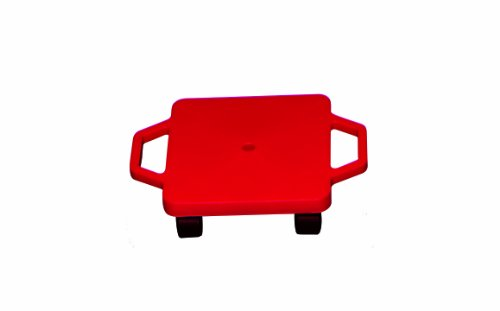 FlagHouse Plastic Safe Grip Scooter, Red