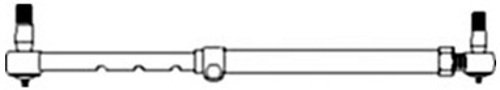 Case Ih International (223324 Complete Tie Rod Assm Made to fit Case-IH Tractor Models 385 485 +)