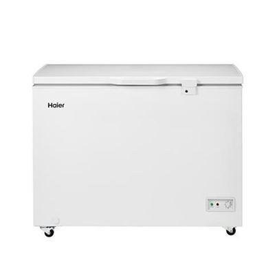 Haier HFC9204ACW 44″ Chest Freezer with 9.2 cu. ft. Capacity Up to 325 lbs Storage LED Lighting LED Lighting and Security Lock in