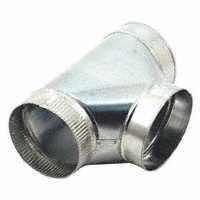 - Gray Metal 4-304-ez Stove Pipe Tee, 4