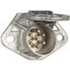 Grote 84116 Ultra-pin Receptacle Two-hole Mount, Die-cast Zinc