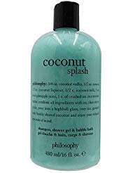 Philosophy Coconut Splash By Philosophy for Unisex - 16 Oz Shampoo, Shower Gel & Bubble Bath, 16 Oz