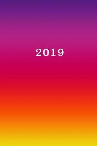 2019: Calendrier/Agenda: 1 semaine sur 2 pages, Format 6