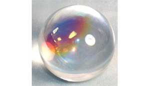 Crystal Ball Ouiji Séance Toy Search For Wisdom Divination Tool 50mm Aurora Rainbow 2''