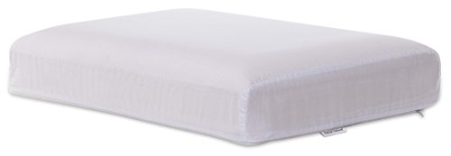 Intevision Gusseted Side Sleeper Memory Foam Pillow With