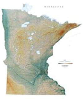 Amazoncom MINNESOTA STATE ROAD MAP GLOSSY POSTER PICTURE PHOTO - Minnesota road map