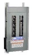 SCHNEIDER ELECTRIC Panel Board Interior Nq 100-Amp Mlo 30 3-Pole Copper NQ430L1C Molded Case Circuit Breaker 600V 100A