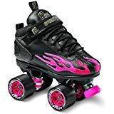 Sure-Grip Rock Flame Ruby Rollerskates (Mens 7/Womens 8-8.5)