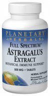 (Full Spectrum Astragalus Extract Planetary Herbals 120 Tabs)