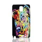 Angel Pit Bull ~ Custom Design 3d Rough Surface Case ~ Hard Case Cover Skin ~ Best Quality Case Skin for Samsung Galaxy Note 3 N9000 ~ Ideal Gift By Linda Art Case