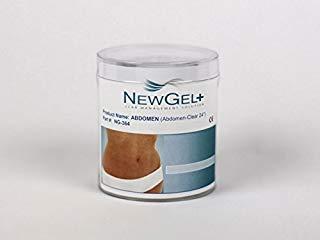 NewGel+ E 24inch X 2inch Abdomen Clear (1 per box) by NewGel+