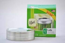 Ball Wide Mason Jar Canning Lids 6 dozen or 72 lids total