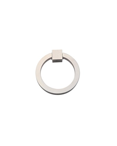 Ring Pull 3″ Round Brass PN - Polished Nickel