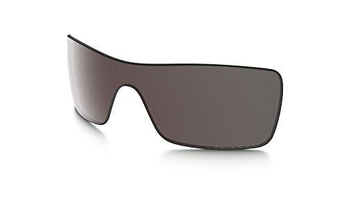 Oakley 41-855 Men's Batwolf Polarized Replacement Lenses, OO Black Iridium - Iridium Black Oo Polarized