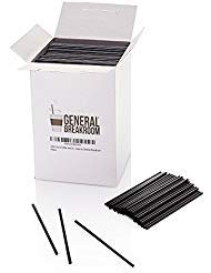 """2000-count, 5 1/2"""" Coffee and Cocktail Drink Stirrer Straws By General Breakroom from General Breakroom"""
