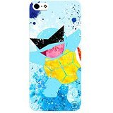 Pokemon Squirtle Squad Inspired iPhone 5/5s Case - Blue Bubble Beam Water Type PKM101 Hard Case - Pokemon Beams
