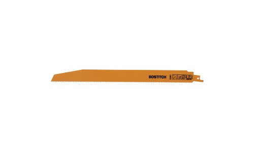 BOSTITCH BSA4870M 10 TPI Demo Reciprocating Saw Blade, 12-Inch, 3-Pack