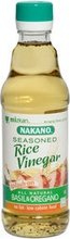 Nakano Seasoned Rice Vinegar Basil Oregano 12 Oz -Pack of 6