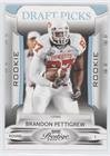 Brandon Pettigrew #396/999 (Football Card) 2009 Playoff Prestige - [Base] - Draft Picks Light Blue #112 ()