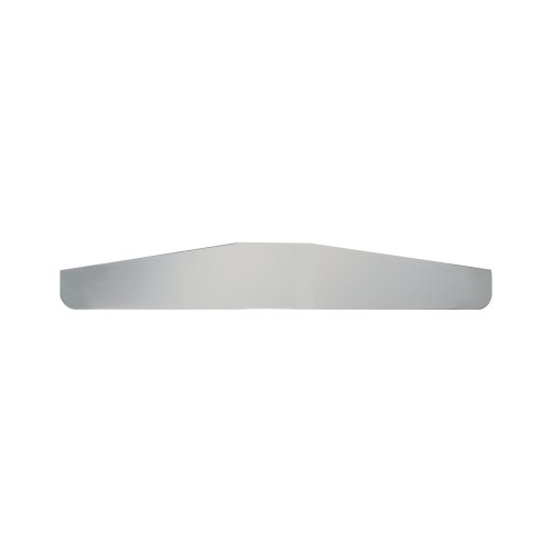 Grand General 30028 Chrome 18' x 3' Bottom Mud Flap Plate