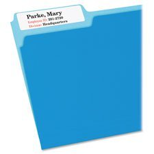 AVE8425 - Avery Removable Extra-Large 1/3-Cut File Folder Labels ()