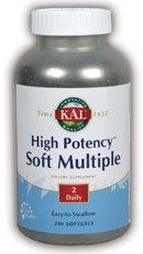 ltiple Kal 240 Softgel (High Potency Multivitamin Supplement)