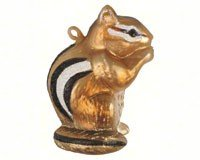Cobane Studio LLC COBANEC416 Chipmunk Ornament