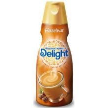 International Delight Hazelnut Coffee Creamer, 16 Fluid Ounce - 6 per case.