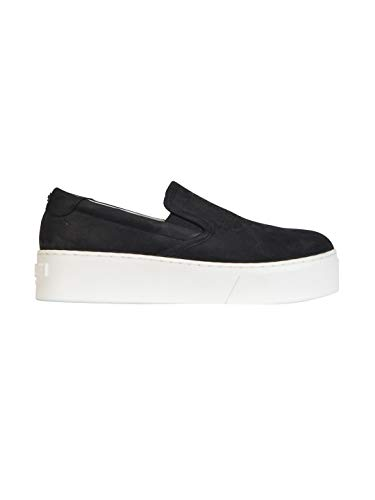Nero Sneakers Donna Pelle F662sl400l5599 On Kenzo Slip x4zwq6YP