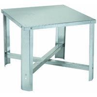 Oatey 34057 Galvanized Water Heater Stand, 21-Inch Square by 18-Inch High (Square Water Heater Pan compare prices)