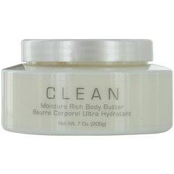 CLEAN WARM COTTON by Dlish for WOMEN: MOISTURE RICH BODY BUTTER 7 OZ