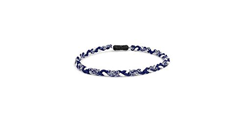 - Brett Brothers Ionic Necklace in Navy Blue and White (Medium)