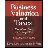 img - for Business Valuation & Federal Taxes (2nd, 11) by Laro, David - Pratt, Shannon P [Hardcover (2011)] book / textbook / text book