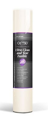 - OESD Ultra Clean & Tear Fusible White 15