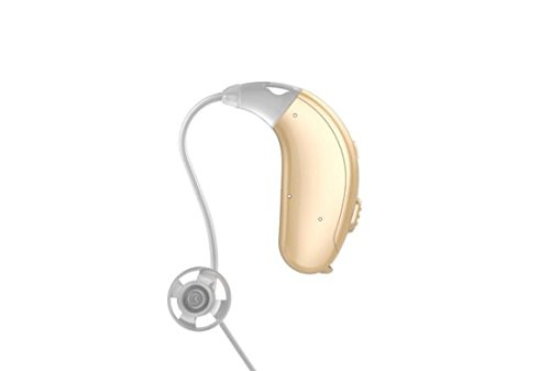 Jungle Care® Chime 21 Right Ear Hearing Amplifier Digital Personal Sound Amplification Product (PSAP) FDA Approved to Aid Hearing with Volume Control and Push Button, Beige