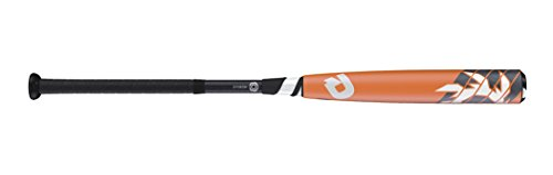 "Wilson DeMarini Voodoo Raw Baseball Bat, 29""/16 oz, Orange/White/Black"