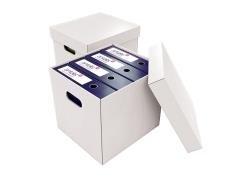 Equipo Heavy Duty cajas de archivo – Blanco -150 M/B/T –