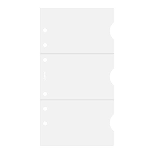 MaxGear 8 Pocket Desktop Clear Acrylic Business Card Holder