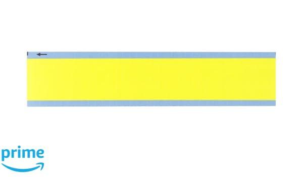 B-500 Repositionable Vinyl Cloth Pack of 25 Card Brady WM-COL-OR-PK 1.5 Marker Length Matte Finish Orange NEMA Color Wire Marker Card