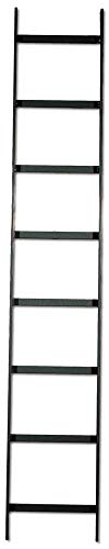 Rack Ladder Data (Hubbell Wiring Systems HLS1018B NextFrame Steel Straight Section Ladder Rack, 10' Length x 18